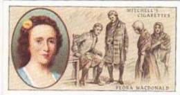 Mitchell Vintage Cigarette Card Famous Scots No 27 Flora MacDonald 1722-1790 - Sigaretten