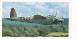 Doncella Vintage Cigarette Card Golden Age Of Flying No 23 De Havilland Mosquito T3 RR299 - Player's