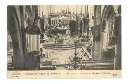 Cp, 54, Nomeny, Intérieur De L'Eglise (1914-1915) - Nomeny