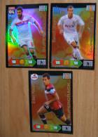 PANINI ADRENALYN XL FOOT 2012 LIGUE 1 SAISON 2011-12 - SET SUPERCRACK COMPLET LYON MARSEILLE LILLE HAZARD LOPEZ CHEYROU - Trading Cards