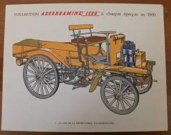 Planche Automobile Ancienne DAIMLER 1898. - Publicité Pharmacie Pub Collection Ascorbamine Voiture - Autos