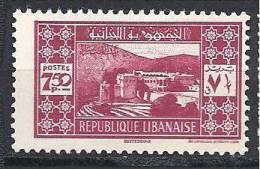 GRAND LIBAN  N� 166  NEUF* TB
