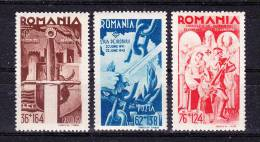 ROMANIA   1943 ,  II W W - 2 Years ,   Y&T #  709/1 , Cv   13.50  E ,  ** M N H , V V F - 1918-1948 Ferdinand, Carol II. & Mihai I.