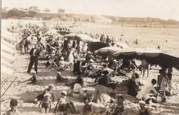 Uruguay -  Carte-Photo -  Montevideo  1933 - Playa Ramirez - Plage Bain - Uruguay