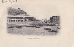 Golfe D' Aden - Précurseur - Port Quais - Timbre Cote Française Des Somalis - Yémen