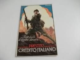 Prestito Credito Italiano  Illustratore Mauzan Fate Tutti Il Vostro Dovere - Mauzan, L.A.