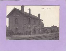 CPA -  72 - DOLLON -  - La Gare  De DOLLON - LE- LUART - France