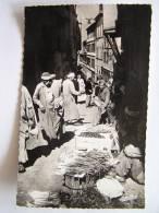 Cpsm, Carte Photo, Très Belle Vue Animée, Alger, La Casbah, Marchand De Légumes - Algeri