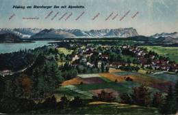 Pöcking Am Starnberger See Mit Alpenkette - Pocking