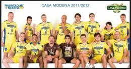 PALLAVOLO - ITALIA Casa Modena 2011 / 2012 - NUOVA - Volleyball