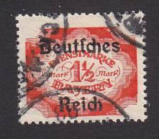 Bavaria, Scott #O66, Used, Official Overprinted, Issued 1920 - Bavaria