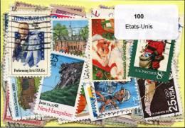 100 Timbres Thème Etat-Unis - Collections