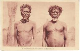 Old Loka Native Men, Baibokoum Chad C1910s/20s Vintage Postcard - Chad