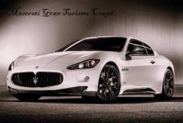 Maserati Gran Turismo Coupé Sticker - Size:15X10 Cm. Aprox. - Collection Of  Cars (240 Differents) - Adesivi