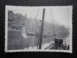 PHOTO ROTTERDAM (M36) Les Quais Avec Péniches (1 Vue) 1938 - Places