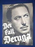 Filmprogramm, Der Fall Deruga, Illustrierter Film - Kurier Nr. 2823, 30er Jahre, Willy Birgel, Käthe Hag, Beppo Brem - Film & TV
