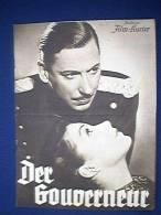 Filmprogramm, Der Gouverneur, Illustrierter Film - Kurier Nr. 2947, 30er Jahre, Brigitte Horney, Willy Birgel - Film & TV