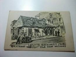 Lafitte Blacksmith Shop Old New Orleans M.h. 1939 New Orleans U.s.a. - Negozi
