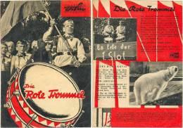 Filmprogramm - Kinderfilm K 8 / 61, Die Rote Trommel, DEFA, DDR 1961, Gründung Der Pionierorganisation - Film & TV