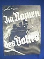 Filmprogramm, Im Namen Des Volkes, Illustrierter Film - Kurier Nr. 2914, 30er Jahre, Rudolf Fernau, Rudolf Platte - Film & TV