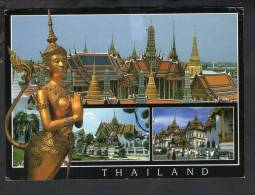 H692 Thailand - Temple Of Emerald Buddha With Kinaree Half And Half Woman - Nice Stamp - Bouddhisme