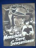 Filmprogramm, Menschen Tiere Sensationen, Illustrierter Film - Kurier Nr. 2875, 30er Jahre, Zirkus, Harry Piel - Film & TV