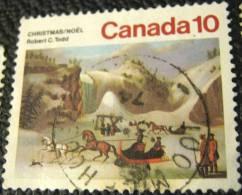 Canada 1974 Christmas Robert C Todd 10c - Used - 1952-.... Règne D'Elizabeth II