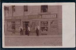 Salon De Coiffure, Montreux? Lausanne? (21509) Pli D'angle - Métiers