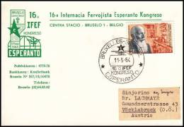 "Austria 1964, Card ""Esperanto Kongress"" - 1945-.... 2. Republik"