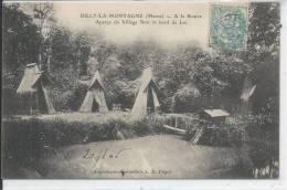 RILLY LA MONTAGNE - A La Source, Aperçu Du Village Noir Et Bord Du Lac - Rilly-la-Montagne