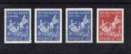 Sweden 1964 Mi. 515 C Do Du 516 C MNH, Erik Axel Karlfeldt, Poet, Horse With Chariot - Sweden