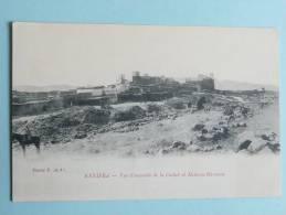 CAMPAGNE DU MAROC - KENIFRA - Vue D'ensemble De La Casbah Et Moba Ou Hammou - Guerres - Autres