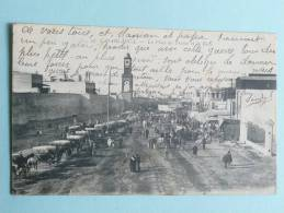 CASABLANCA - LA PLACE DE FRANCE ET LA RADE - Casablanca