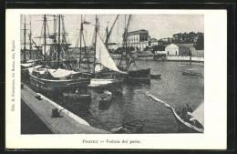 Cartolina Portici, Veduta Del Porto - Portici