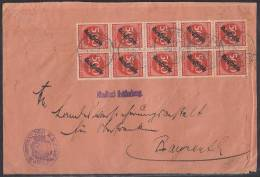 DR Brief Mef Minr.50x D81 Gräfenberg 25.8.23 - Dienstpost