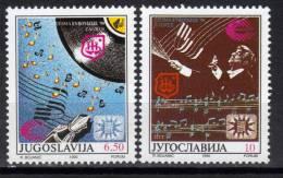 Yugoslavia,Eurovision Song Contest ´90. In Zagreb 1990.,MNH - 1945-1992 Socialist Federal Republic Of Yugoslavia