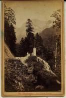 Isére - Gde Chartreuse - LA CROIX VERTE    Marquée ODDOUX. Phot. Grenoble Au Dos (voir Scan) Photo Ancienne- Dauphiné - Photographs
