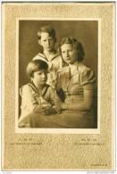 LL. AA. RR. Les Princes De Belgique (Baudouin, Albert Et Josephine Charlotte) - Buvard L.A.B. - Buvards, Protège-cahiers Illustrés