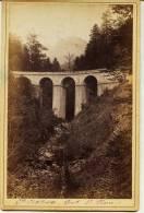 Isére - Gde Chartreuse - PONT SAINT PIERRE    Marquée ODDOUX. Phot. Grenoble Au Dos (voir Scan) Photo Ancienne- Dauphiné - Photographs