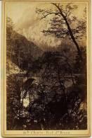 Isére - Gde Chartreuse - PONT SAINT BRUNO    Marquée ODDOUX. Phot. Grenoble Au Dos (voir Scan) Photo Ancienne- Dauphiné - Photographs
