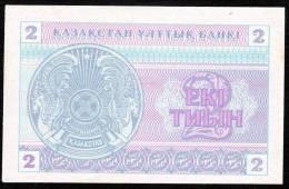 KAZAKHSTAN   P2 2  TIYIN   1993   UNC. - Kasachstan