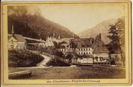 Isére - Gde Chartreuse - FACADE DU COUVENT   Marquée ODDOUX. Phot. Grenoble Au Dos (voir Scan) Photo Ancienne- Dauphiné - Photographs
