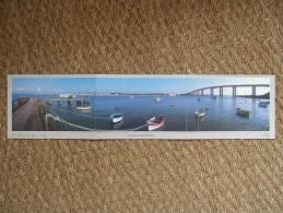 LA VENDEE DE LONG EN LARGE / PORT DE LA FOSSE, FROMENTINE, PONT DE NOIRMOUTIER / BELLE CARTE A TROIS VOLETS - Noirmoutier