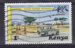 Kenya 1977 Mi. 93     1 Sh Fernstrasse Highway Nairobi - Addis Ababa - Kenia (1963-...)