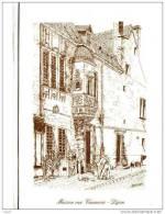 CPM DIJON Rue Vannerie (dessin) - Dijon