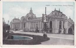 Old FRANCE Postcard PARIS Le Pitie Palais, Champs Elysee - Champs-Elysées