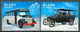 ALAND 2012 Autobussen Serie PF-MNH-NEUF - Aland