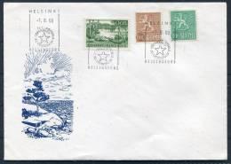 1969 Finland Helsinki Esperanto Congress Cover - Esperanto