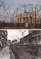 ¤¤   -  Lot De 4 Cartes  -  BERLIN  -  Le Mur  -  Porte De Brandebourg  -  ¤¤ - Ohne Zuordnung