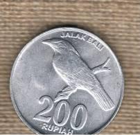 INDONESIA -  200 Rupias 2003  KM66 - Indonésie
